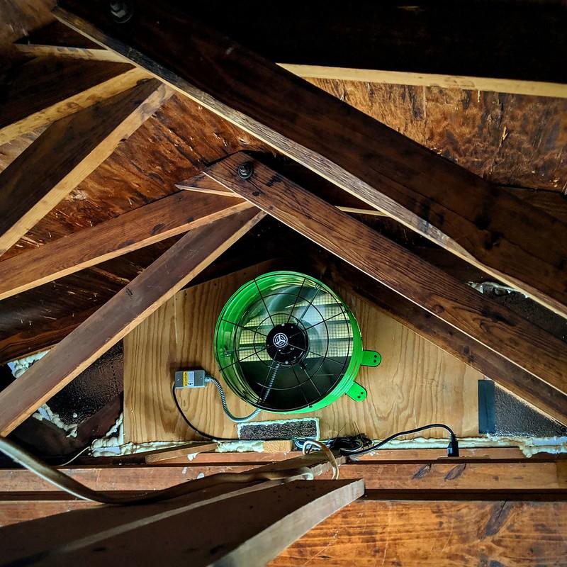 quiet attic fan
